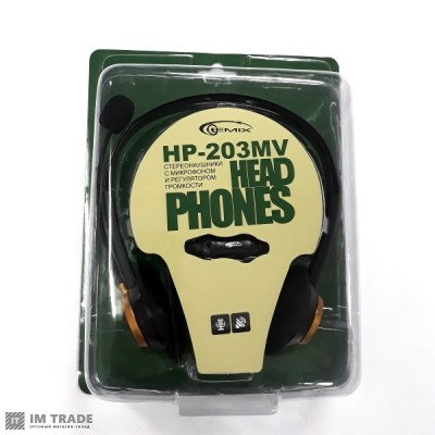 наушники Gemix HP - 203MV