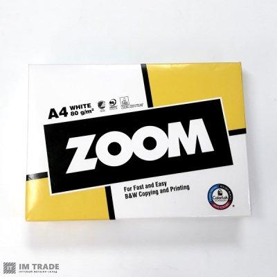 Бумага офисная  ZOOM  A4 (500 листов)