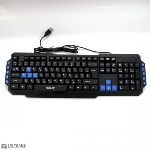 Клавиатура HAVIT HV-KВ327 мультимедийная