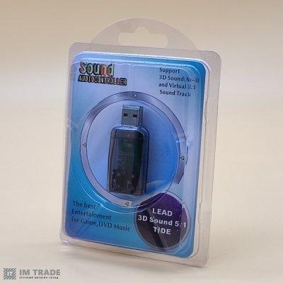 Звуковая карта USB 3D  5.1