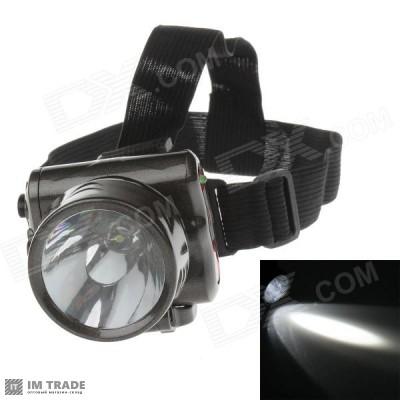 фонарик  на лоб  Yajia YJ-1829-1 1 LED встроен АКБ