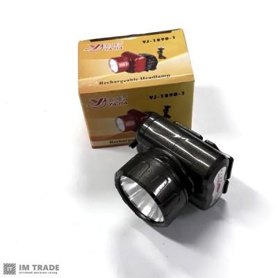 фонарик  на лоб  Yajia YJ-1890-1 1 LED