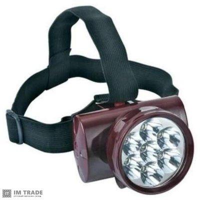 фонарик  на лоб  Yajia YJ-1858 7 LED встроен АКБ