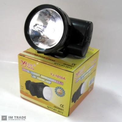фонарик  на лоб  Yajia YJ-1858A