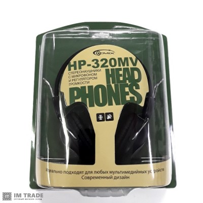 наушники Gemix HP - 320 MV
