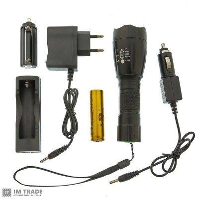 фонарик 1891-T6 50000W+ЗУсеть zoom 5реж