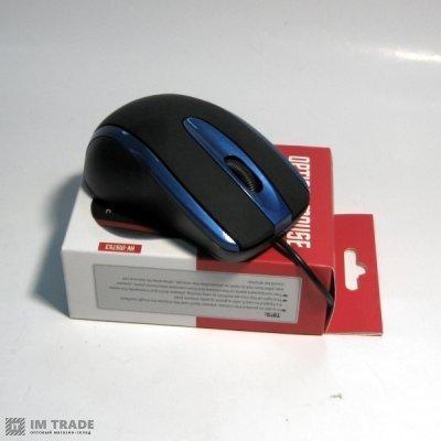 Мышка  HAVIT HV-MS 753 USB, black/blue