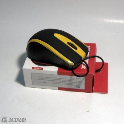Мышка  HAVIT HV-MS 753 USB, black/yellow