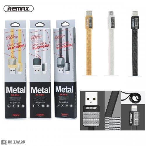 Кабель USB / micro USB 1м Remax Platinum RC-044m orig USB