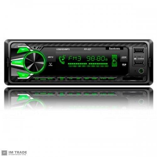 Автомагнитола FANTOM FP-327 + USB порт  5Вольт 1.2А