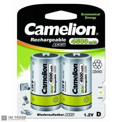 Аккумулятор D Camelion 4500mAh 1.2V Ni-MH