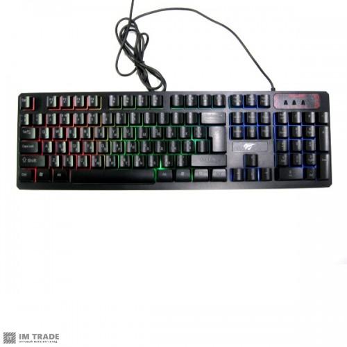 Клавиатура HAVIT HV-KB421Lс подсветкой (тихая)