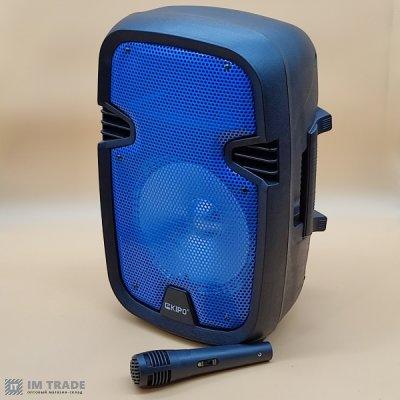 порт.чемодана с USB+SD+Blutooth+микр. 39см*25см*21см KIPO KB-Q5