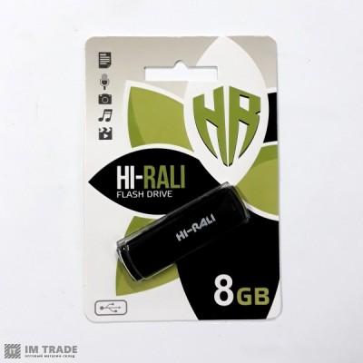 USB Flash Drive 8 Gb  Hi-Rali Bright