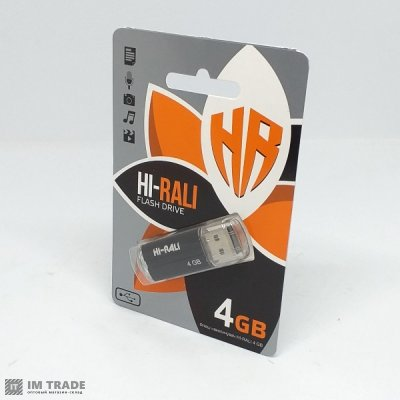 USB Flash Drive 4 Gb  Hi-Rali  Corsair