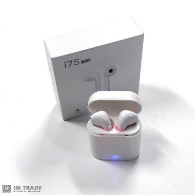Bluetooth гарнитура AIRPODS i7TWS (2шт.) коробка