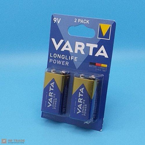 6LR61 VARTA  Long Life Max (уп 10 щт)