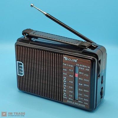 Радио GOLON RX  608