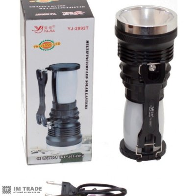 фонарик ручной  YJ-2892 1W+28SMD