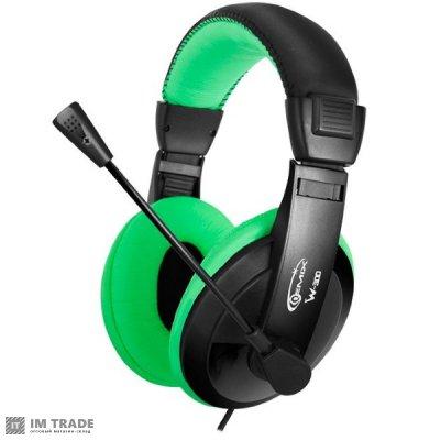 наушники Gemix  W-300 Black/Green