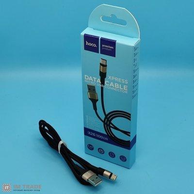 Кабель USB / micro USB 1м Hoco Х26