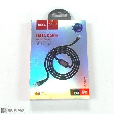 кабель Iphone 5G 1м HOCO Hoco U42 exquisite steel charged