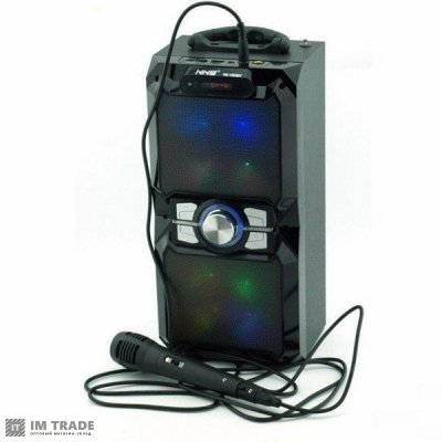 порт.чемодана с USB+SD+Blutooth+микр. 36см*17см*14см NNS-1503BT