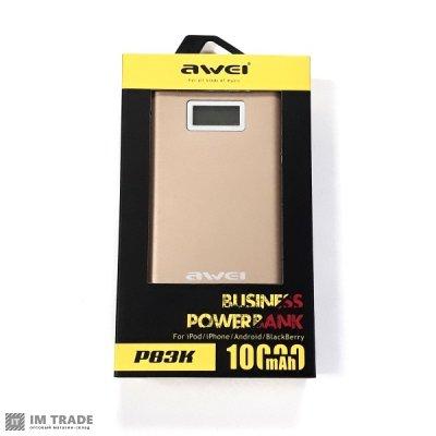 Банк заряда AWEI P83K LCD