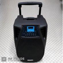 порт.чемодан с USB+SD+Blutooth TEMESHENG SL-12-02 беспр. мик. 2ш т