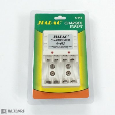 заряд. устр JIABAO A-612 4*AA/4*AAA+2x9V блистер
