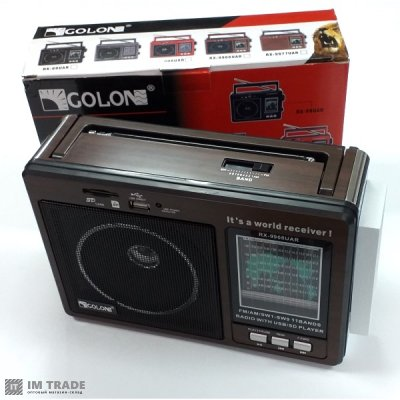 порт. колонк GOLON GOLON RX-9966UAR