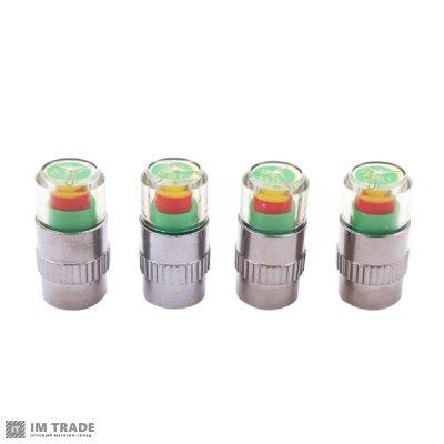 Колпачок индикатор давления в шинах (набор 4 шт)