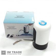 Насос-помпа на бутылку для питьевой воды от USB на аккумуляторе