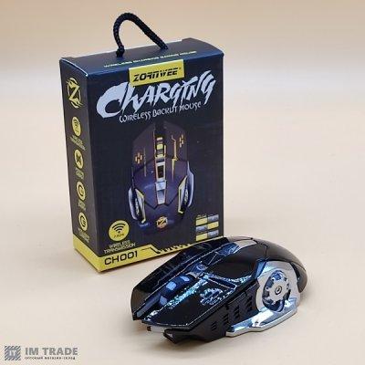 Мышка  ACETECH CH001 с аккумулятором (тихая)