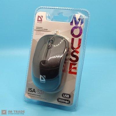 Миша Defender ISA-531 USB black