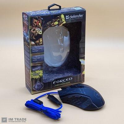Миша Defender #1 MM-340 black+grey
