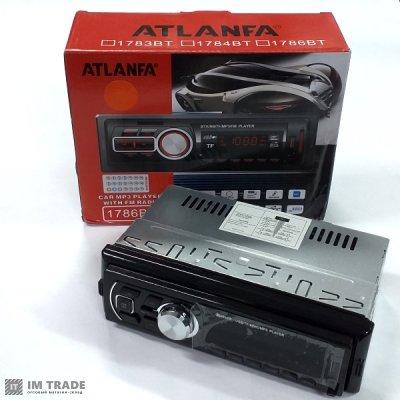 Автомагнитола ATLANFA 1783-BTсъемная панель