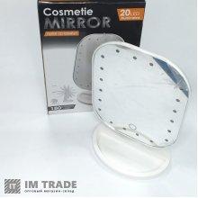 Зеркало для макияжа с LED подсветкой Cosmetie Mirror HH071 20LED