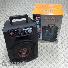 порт.чемодан с USB+SD+Blutooth 30см*22см*15.5см 806