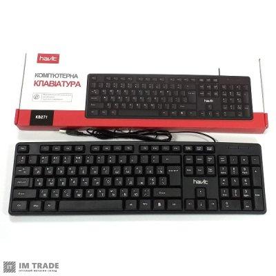 Клавиатура HAVIT HV-KB271, wired USB