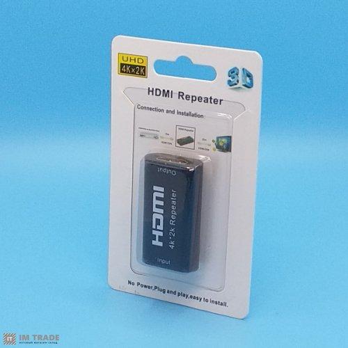 Усилитель сигнала HDMI 4Кх2К до 40 м, HDMI Repeater