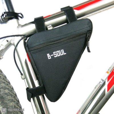 Велосумка B-SOUL на раму 010 объем 1 л