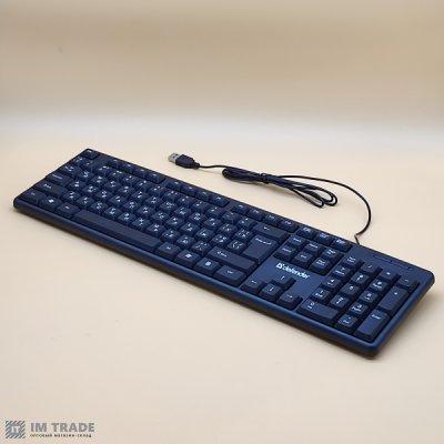 Клавиатура Defender Element HB-520 USB UKR, black