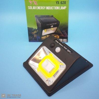 Светильник уличн свет YX-628-COB, solar,датчик движ,дачт света