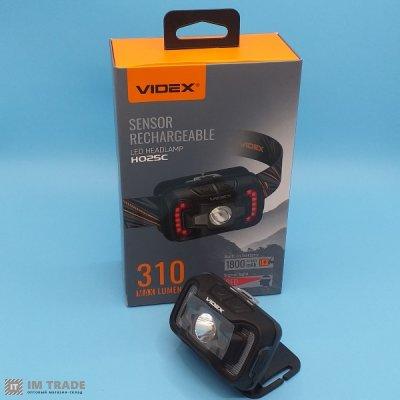 Налобный фонарик VIDEX VLF-H025C 310Lm 5000K